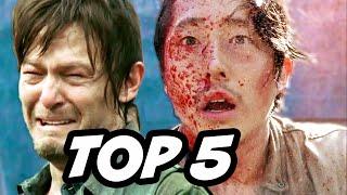 Walking Dead Season 6 Episode 7 - TOP 5 WTF