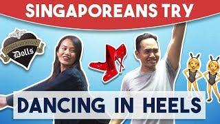 Video Singaporeans Try: Dancing in Heels MP3, 3GP, MP4, WEBM, AVI, FLV Desember 2018