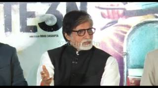 Amitabh Bachchan Recalls His Memory With Mr. Natwarlal Song | TE3N(2016) Music Launch