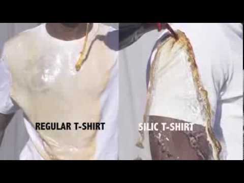 Silic Tshirt - samoczyszczące koszulki