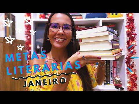 METAS LITERÁRIAS - JANEIRO 2020 | Ana Carolina Wagner