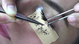 Eyelash extensions - 12mm curly .20