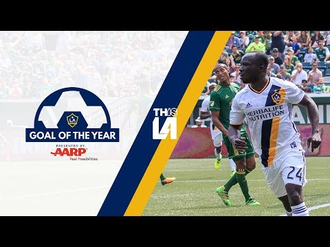 Video: LA Galaxy Goal of the Year   Ema Boateng