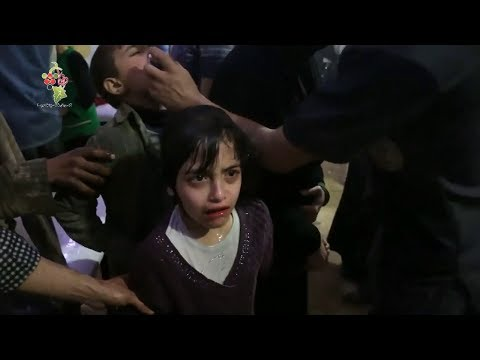 Russia to bring Syrians 'dying' in chemical attack video to OPCW | ITV News