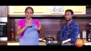Giordana's kitchen show with Henock Girma