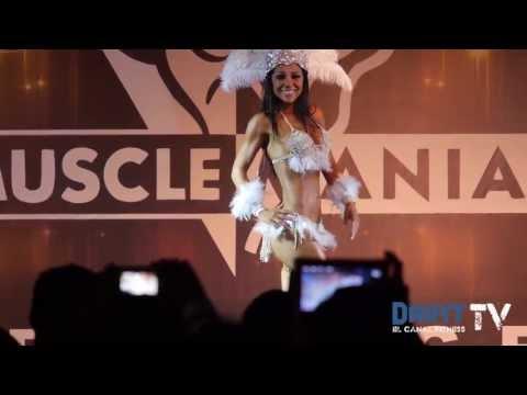 Isela Palacios gana bikini elite - Musclemania Prestige 2013