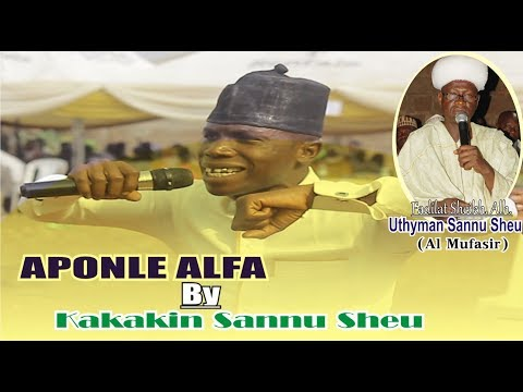Sannu Sheu Son Kakakin /aponle Alfa  Is An Instrenting Movic