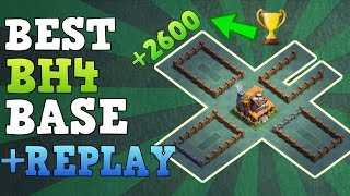 Clash of Clans Best Builder Hall 4 Base (BH4 Base) Anti 3 Star / Anti 2 Star Base [Town Hall 4 (TH4) ] / Trophy Push Base / Trool Bases / Max Base / New Update 2017 Clash of Clans Builder Base Layout / Night Village. Bases done after CoC Versus Battle Update with New Troops and Buildings like Crusher, Multi Mortar, Push Trap, Cannon Cart, Bomber, Battle Machine aka New Hero, Gem Mine, Clock Tower, NEW ROASTER etc.This is the Best BH5 Builder Base 4 2017, Using this base design your base will never get 3 star this is also an Trophy Push Base for Builder Base45. Trophy over 2600+.Replay shown in video is Battle with all troops, including Raged Barbarian, Sneaky Archer, Boxer Giant, Bomber, Dragon, NIGHT WITCH UPDATE------------------- Thank You for Watching! ------------------➜ FASTEST WAY TO EARN FREE GEMS: http://cashforap.ps/finite➜ Please Like ,Share And Subscribe!!➜ Share: https://youtu.be/1UHq4uD_ynM  ➜ Subscribe: https://goo.gl/AWuJLF ------------------------------------------------------➜ Bringing to you: Clash of Clans [CoC]  Attack Strategies and Raids  War Base layout  Farm Base layout  For Town Hall - TH7 TH8 TH9TH10 AND TH11  For Builder Hall –  BH3 BH4 BH5 BH6 BH7----------------------------------------­­­---------------------------------➜ Best Builder Hall 6 Attack Strategy! BHH6 Base!https://youtu.be/3sXeOKNtm9M ----------------------------------------­­­---------------------------------➜ Builder Hall 6 Base [BH6 Builder Base] Clash of Clanshttps://goo.gl/F5avxW ----------------------------------------­­­---------------------------------➜ How to 3 Star Popular Builder Base 5 [BH5]https://youtu.be/X1P3NHJu_u0----------------------------------------­­­---------------------------------➜ How to 3 Star Popular Builder Base 4 [BH4]https://youtu.be/o-e-yIPfG1U----------------------------------------­­­---------------------------------➜ Builder Hall 5 Base [BH5 Builder Base] Clash of Clanshttps://goo.gl/ZyQgy6 ----------------------------------------­­­---------------------------------➜ Builder Hall 4 Base [BH4 Builder Base] Clash of Clans https://goo.gl/kTviSh ----------------------------------------­­­---------------------------------➜ Builder Hall 3 Base [BH3 Builder Base] Clash of Clans https://goo.gl/NslbTB ----------------------------------------­­­---------------------------------➜Clash of ClansClash of Clans is an online multiplayer game in which players build a community, train troops, and attack other players to earn gold and elixir, and Dark Elixir, which can be used to build defenses that protect the player from other players' attacks, and to train and upgrade troops. The game also features a pseudo-single player campaign in which the player must attack a series of fortified goblin villagesNew Features:● Journey to the Builder Base and discover new buildings and characters in a new mysterious world.● Battle with all new troops, including Raged Barbarian, Sneaky Archer, Boxer Giant, Bomber, Cannon Cart, and the new Hero Battle Machine.● Go head to head with other players in the new Versus battle mode.Category: GameInitial release date: August 2, 2012Mode: Massively multiplayer online gameGenre: Strategy Video Game.Platforms: Android, iOS.Publisher: SupercellDeveloper: Supercell----------------------------------------­­­---------------------------------➜Music:Song: it's different - Shadows (feat. Miss Mary) [NCS Release]Music provided by NoCopyrightSounds.Video Link: https://youtu.be/UHbDJ1oPuGoDownload Link: http://NCS.lnk.to/Shadows----------------------------------------­­­---------------------------------Finite Gamer