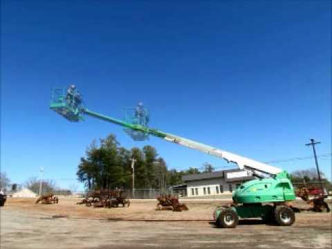 Sold! 2006 JLG 400S 4x4 40' Telescopic Boom Lift Man Aerial bidadoo.com