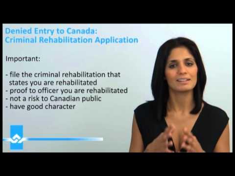 Criminal Rehabilitation Application Video