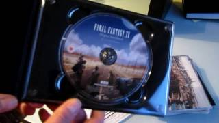 Unboxing Final Fantasy XV Original Soundtrack Limited Edition on Blu-ray