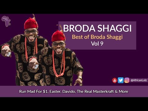 Download Broda Shaggi: Best Of Vol 9 - Nigerian Comedy - Davido,  Real Masterkraft etc - Funny Naija Videos