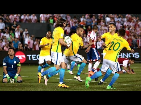 Paraguay Vs Brazil (2-2) All Goals & Highlights |HD| 2018 World Cup Qualification (CONMEBOL)