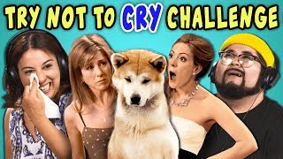 Video ADULTS REACT TO TRY NOT TO CRY CHALLENGE MP3, 3GP, MP4, WEBM, AVI, FLV Maret 2018