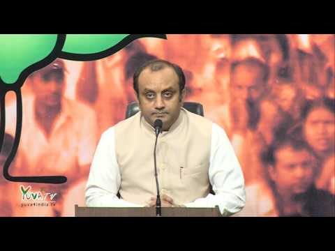 Congress compromised National Security for their political gains: Dr. Sudhanshu Trivedi : 22.04.2016