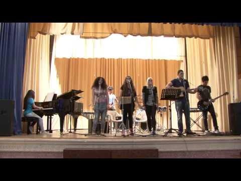 Lyceum - A performance by pupils from the Agios Charalambous Embas Lyceum at the music competition organised by Alliance Francaise de Paphos on 20 April, 2013 at the ...