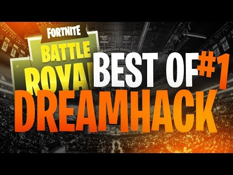 BEST OF DREAMHACK 2018 FORTNITE #1 (TEAM SOLARY & TEAM LUNARY)