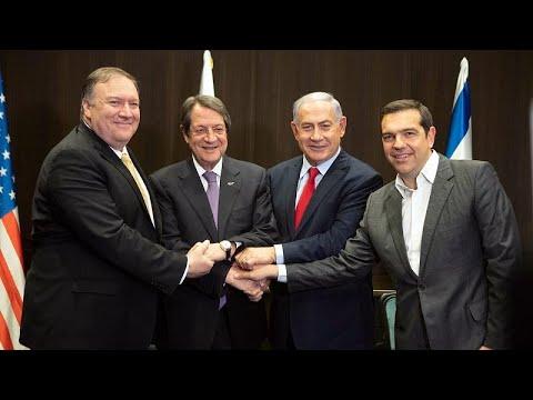 Πομπέο: Ενεργειακοί εταίροι μας Ελλάδα, Κύπρος, Ισραήλ