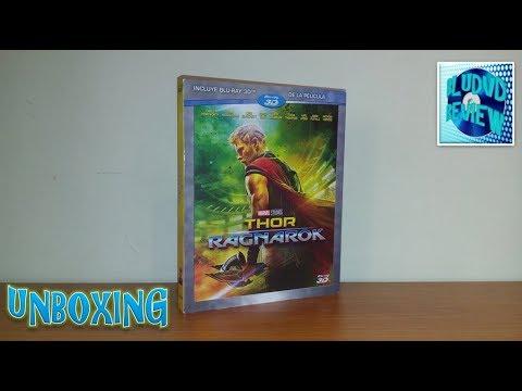 Unboxing: Thor Ragnarok Bluray 3D