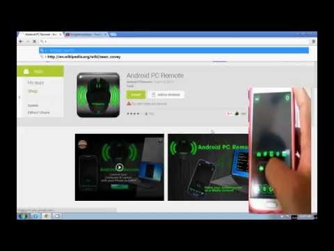 Video of Android PC Remote