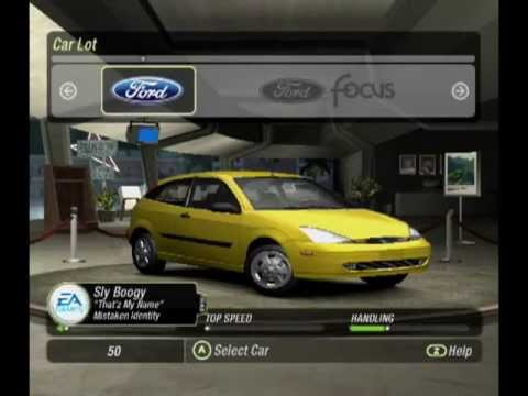 need for speed carbon gamecube cheats codes