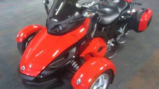 6. 2009 Can-Am Spyder GS SE5 UM317