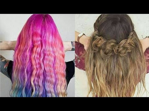 BEAUTIFUL HAIRSTYLES COMPILATION FOR GIRLS    AMAZING BEST HAIR COLOR TRANSFORMATION    ALL BEAUTY  
