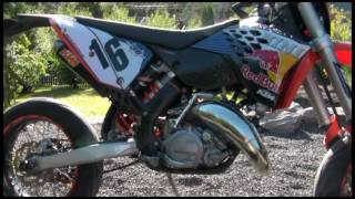 8. 2010 KTM 125 EXC - Champion Edition