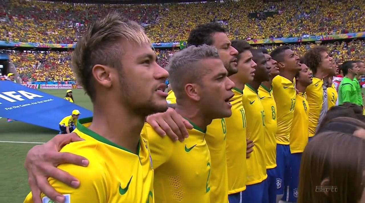 FIFA Word Cup 2014 – Brazil vs  Mexico National Anthems