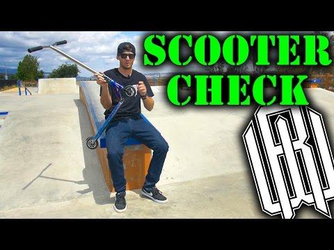 Raymond Warner SCOOTER CHECK @ Serenity Skate Park