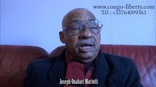 INTERVIEW DE JOSEPH OUABARI MARIOTTI : débat constitutionnel, fin du mandat de Sassou-Nguesso, trans