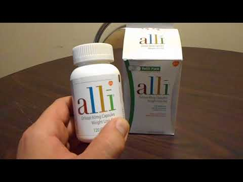 Alli Orlistat Weight Loss Aid Review