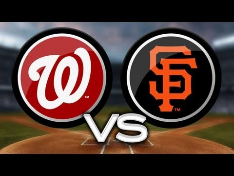 Video: 5/20/13: Giants blank Nats but Vogelsong breaks hand
