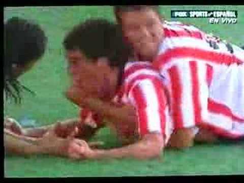 Golazo de Sosa ante Boca Juniors (2006)