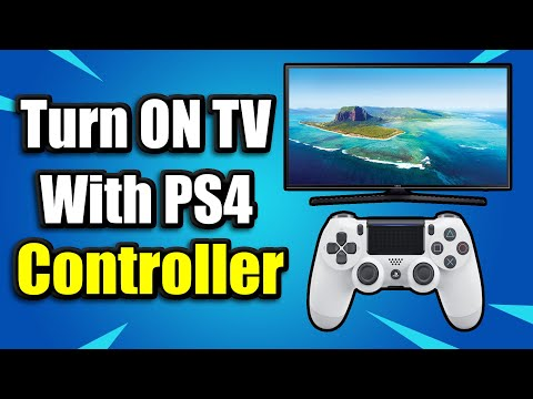 How to enable HDMI LINK PS4 and TURN ON TV WITH PS4 Controller (Best Method)