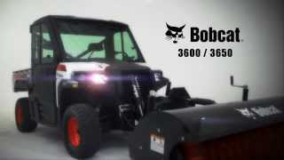4. Bobcat 3600/3650 Utility Vehicles: Primed for Productivity