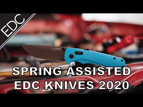10 Best Spring Assisted Knives for EDC in 2020
