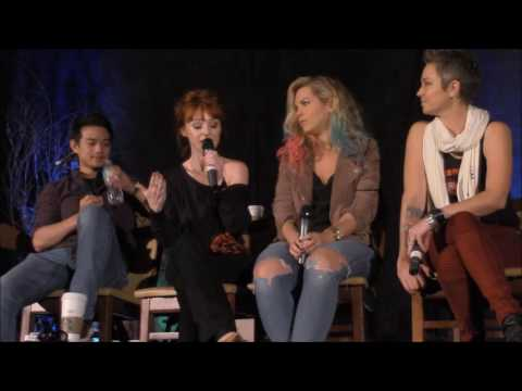 AtlCon Osric Chau, Ruth Connell, Briana Buckmaster And Kim Rhodes FULL Panel 2016 Supernatural