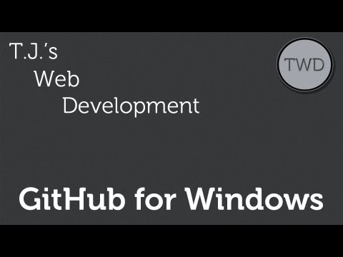 Part 1 :: GitHub for Windows