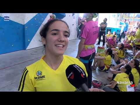 Reportaje Campeonato Escalda Navarra Tv