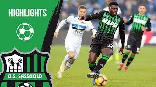 Serie A, highlights Sassuolo-Atalanta 2-6