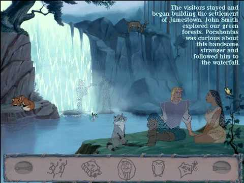 pocahontas - Heres the last Storybook I will make. This game is for most kids. This animated storybook game was the first one I got several years ago. Here includes, tuto...