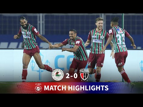 Highlights - ATK Mohun Bagan 2-0 NorthEast United FC - Match 46   Hero ISL 2020-21