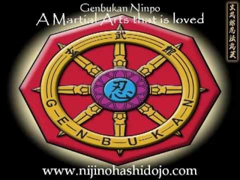 Genbukan Ninpo Bugei Niji Nohashi Dojo USA www.nijinohashidojo.com