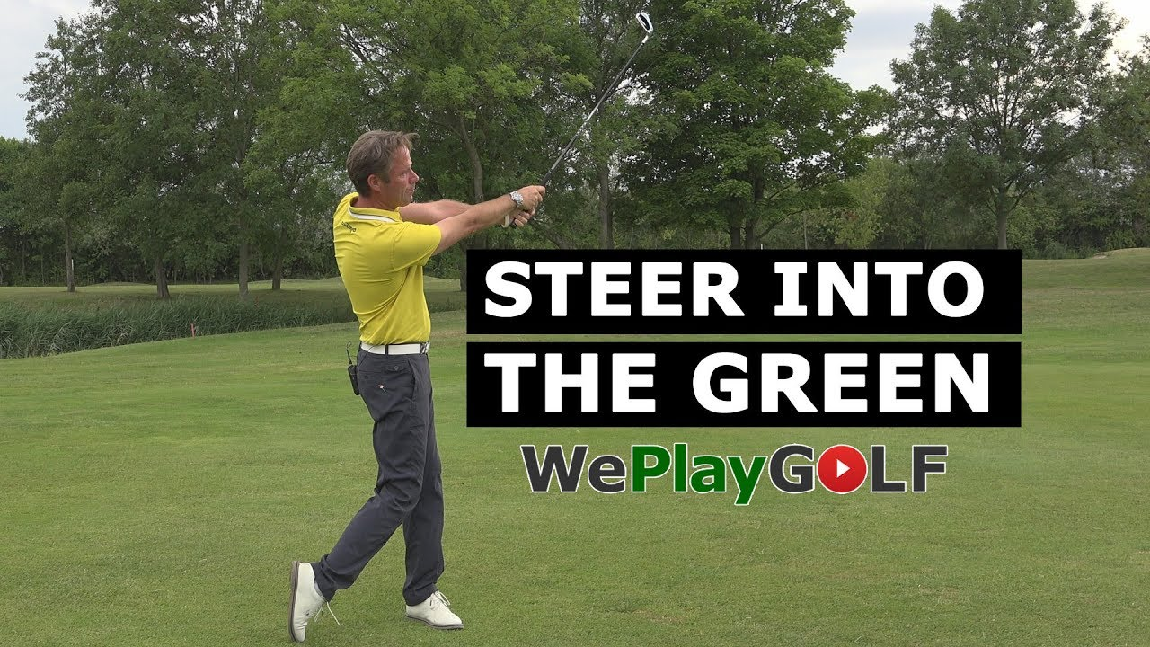 Golf Swing tip: Steer your golf ball into a narrow green