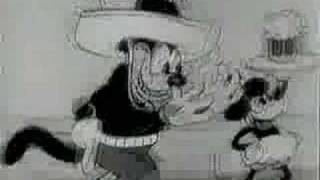 Mickey Mouse - The Cactus Kid (1930)