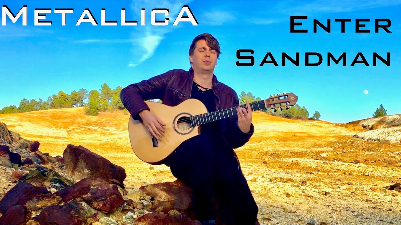 Enter Sandman [METALLICA] – Acoustic / Classical Fingerstyle Guitar – Thomas Zwijsen