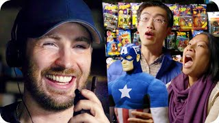 Video Captain America Pranks Comic Fans with Surprise Escape Room // Omaze MP3, 3GP, MP4, WEBM, AVI, FLV Juli 2018
