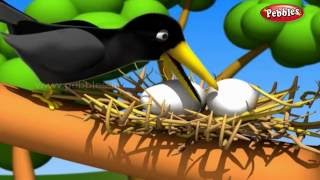 The Crow and Snake | मराठी कथा | 3D Moral Stories For Kids in Marathi | Moral Values Stories Marathi