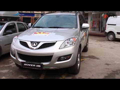 Chinese car nominated for Car of the Year in Macedonia